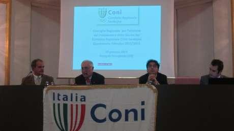 Consiglio Elettivo del CONI Sardegna (23012013)