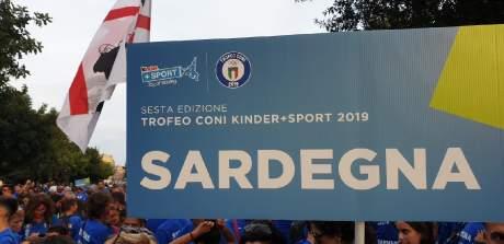LA SARDEGNA AL TROFEO CONI+KINDER 2019